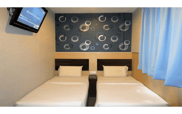 T-Hotel Bukit Bintang Kuala Lumpur - Superior Twin Room