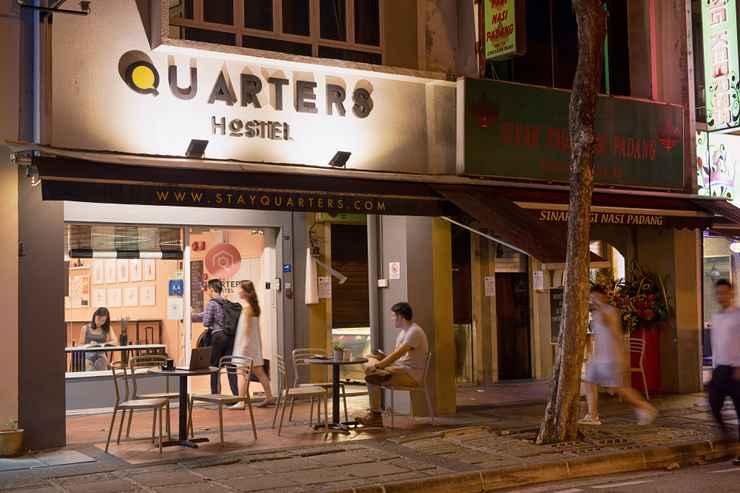 EXTERIOR_BUILDING Quarters Capsule Hostel