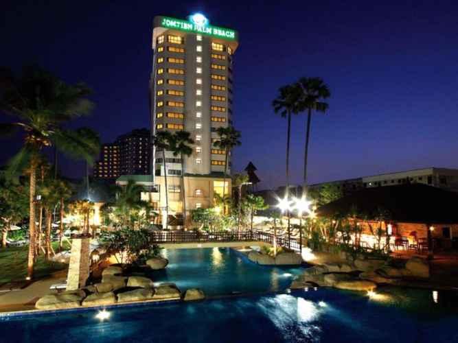 EXTERIOR_BUILDING Jomtien Palm Beach Hotel & Resort