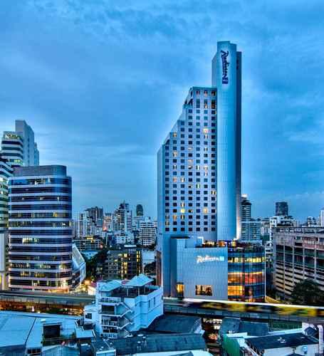 EXTERIOR_BUILDING เรดิสัน บลู พลาซ่า บางกอก