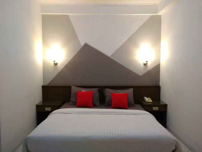 BEDROOM K-Style Eco Hotel Jakarta @Kemayoran