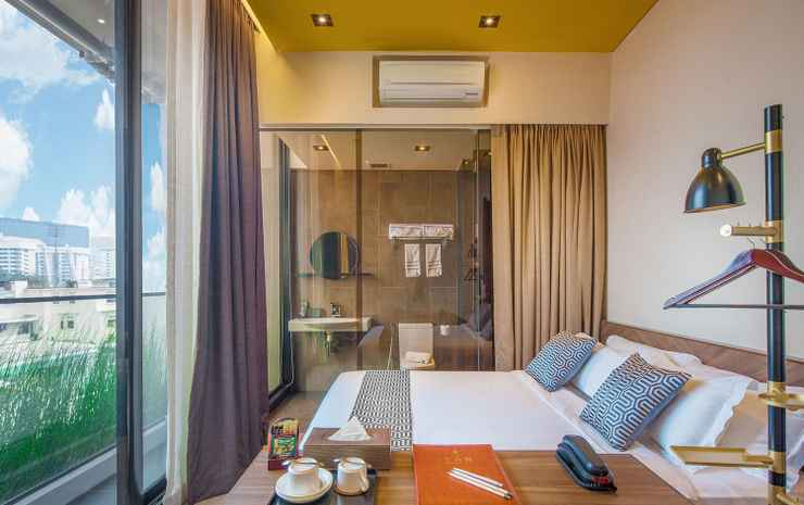 Hotel YAN (SG Clean, Staycation Approved) Singapore - Kamar Double, balkon