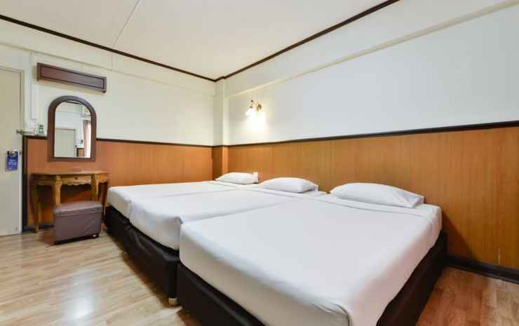 Nice Palace Hotel Bangkok - Standard Triple Room  (Special deal Early check-in 07:00 AM , Late check-out 12:30 PM)