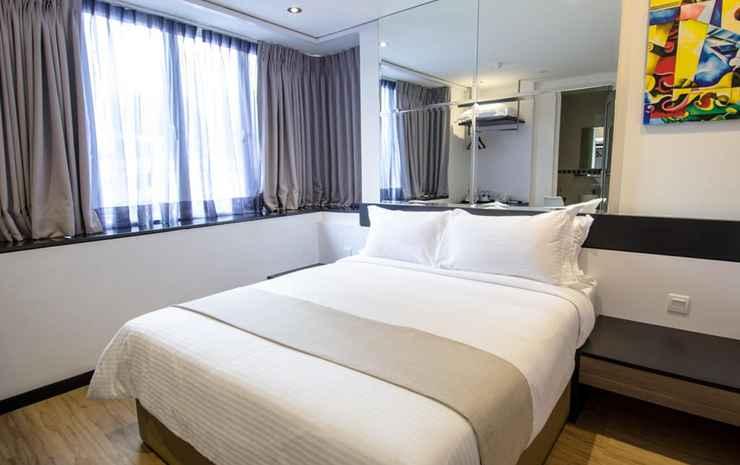 12Fly Hotel Bukit Bintang Kuala Lumpur - Double Window with Balcony