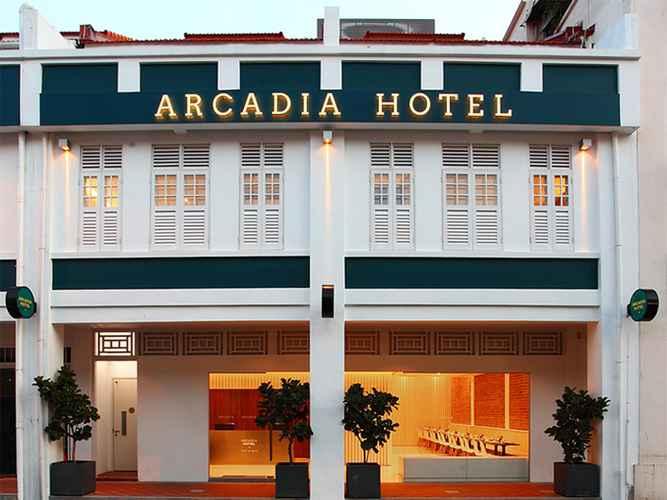 EXTERIOR_BUILDING Arcadia Hotel