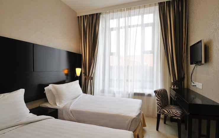 Rest Bugis Hotel Singapore - Kamar Twin Superior, tanpa jendela