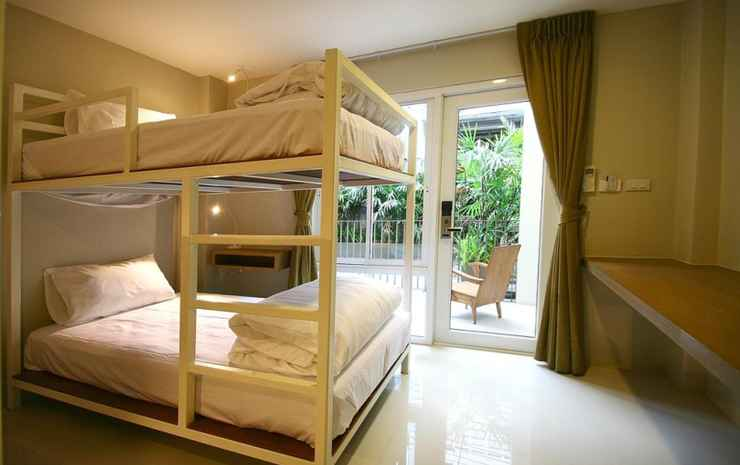 CHERN Bangkok Boutique Hostel Bangkok - Standard Quadruple Room