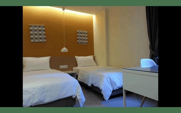 1000 Miles Kuala Lumpur - Standard Twin Room (With Window)