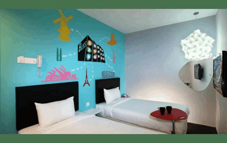 Hotel Zamburger Bliss Johor -