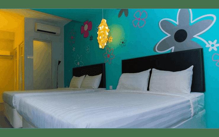 Hotel Zamburger Bliss Johor - Family Room