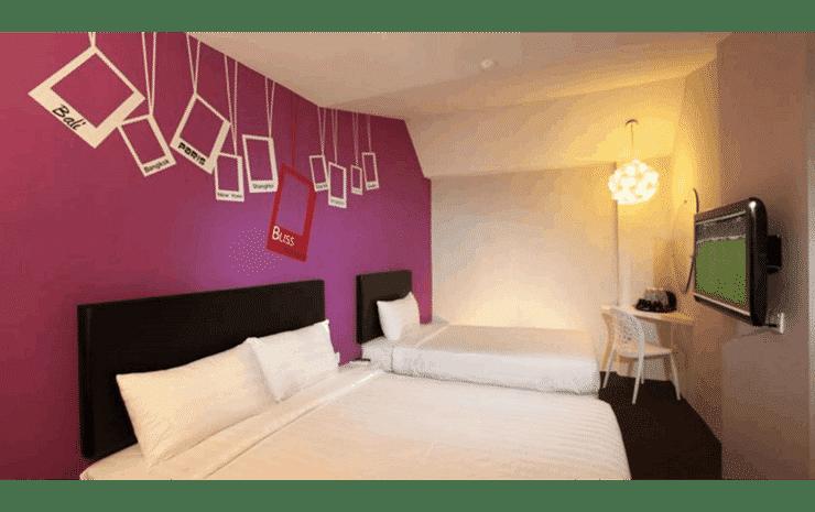 Hotel Zamburger Bliss Johor - Family Junior Room