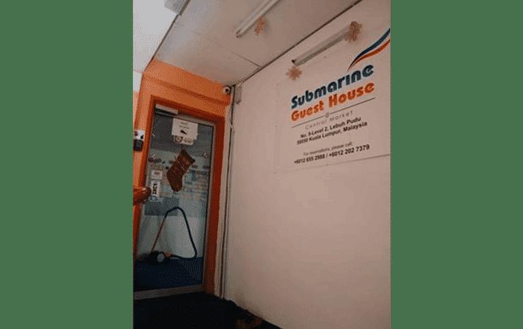 Submarine Guesthouse @ Central Market Kuala Lumpur -