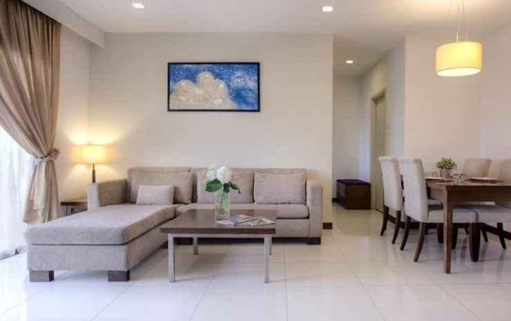 The Nomad Bangsar Serviced Residences Kuala Lumpur - Suite Two Bedrooms