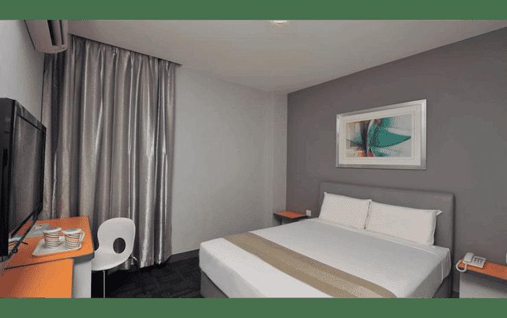 U Pac Hotel Kuala Lumpur - Superior Double Room (No Window and No Breakfast)