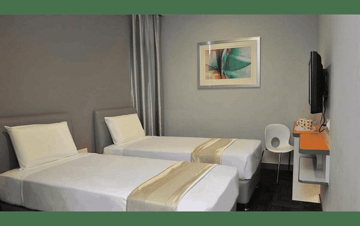 U Pac Hotel Kuala Lumpur - Standard Twin Room (No Window and No Breakfast)