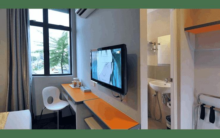 U Pac Hotel Kuala Lumpur - Deluxe Twin Room (With Windows and No Breakfast)