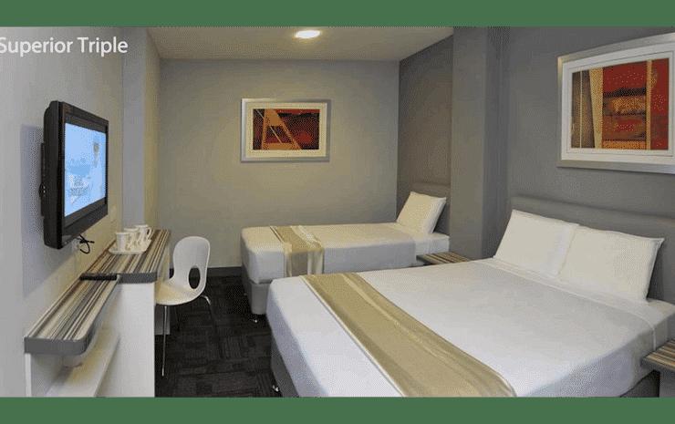 U Pac Hotel Kuala Lumpur - Superior Triple Room (No Window and No Breakfast)