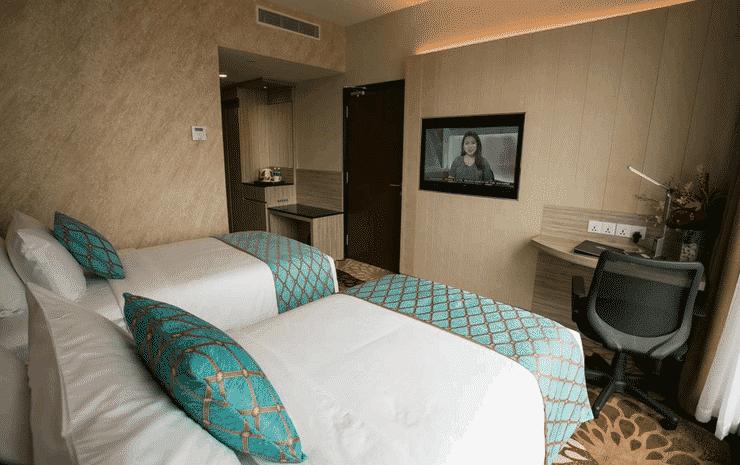 V8 Hotel Johor - Twin Deluks