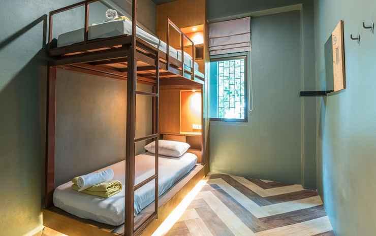 Loftel 22 hostel Bangkok - Twin Room - Shared Bathroom - Room Only FC