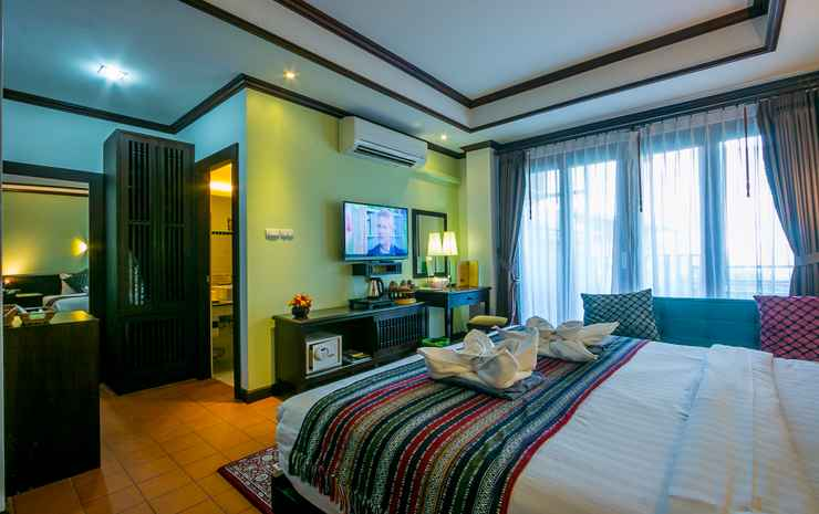 Baan Huenphen Boutique Hotel Chiang Mai - Superior Double Room with Balcony