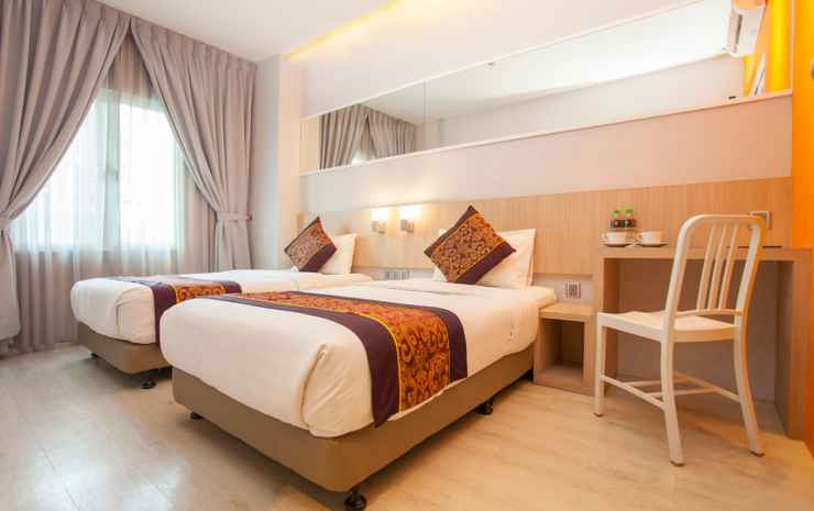 Orange Premier Hotel Taman Segar Kuala Lumpur - Deluxe Twin Room (With Window)