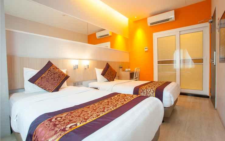 Orange Premier Hotel Taman Segar Kuala Lumpur - Deluxe Twin Room (No Window)