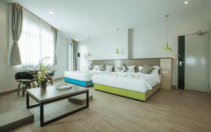 Bzz Hotel Skudai Johor - Family Suite Room