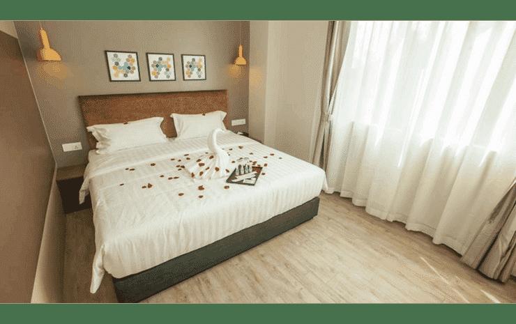 Bzz Hotel Skudai Johor - Family Quadruple Room