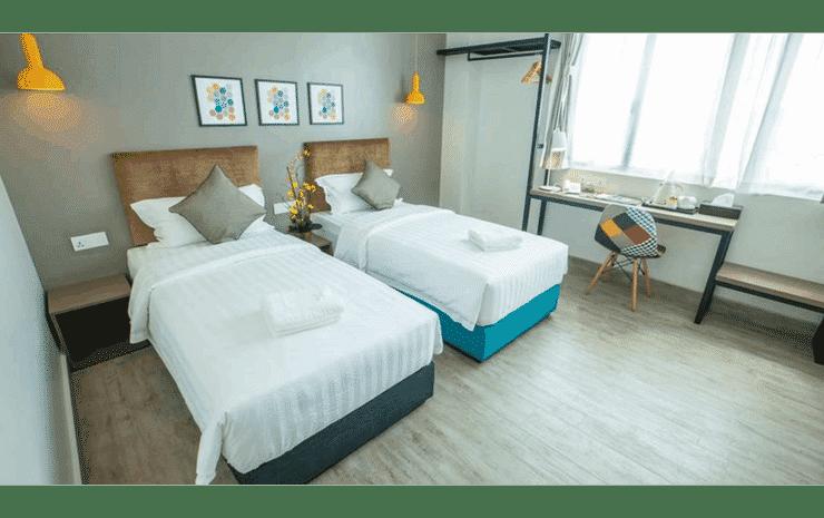 Bzz Hotel Skudai Johor - Deluxe Twin Room