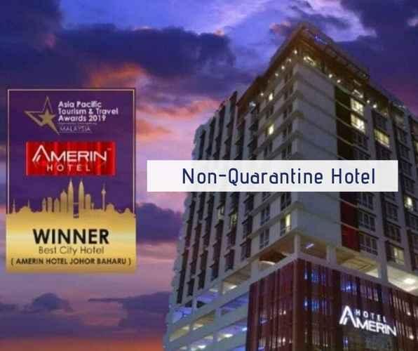 EXTERIOR_BUILDING Amerin Hotel Johor Bahru