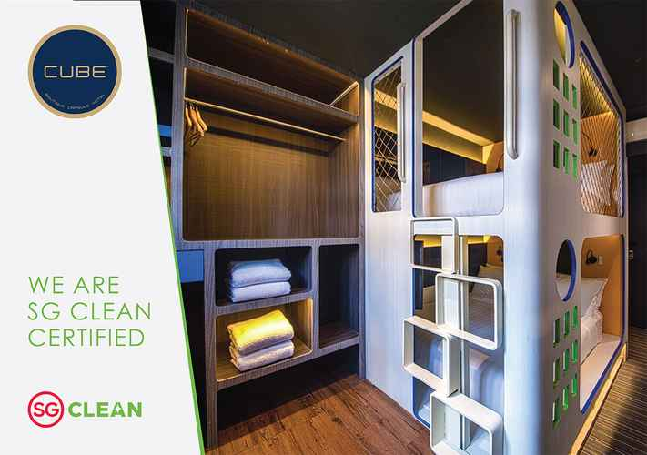 BEDROOM CUBE Family Boutique Capsule Hotel @ Chinatown