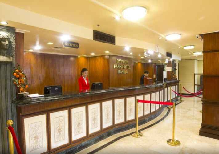 LOBBY Bayview Park Hotel Manila