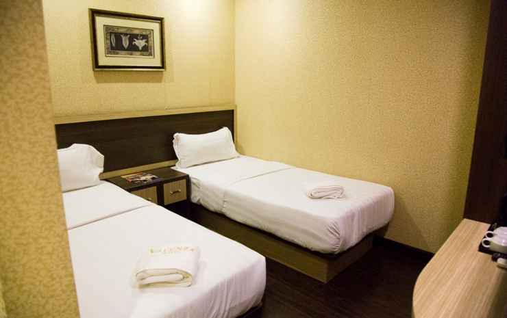 Valenza Hotel & Cafe Kuala Lumpur - Deluxe Twin Room ( Without Window ) Limited Offer
