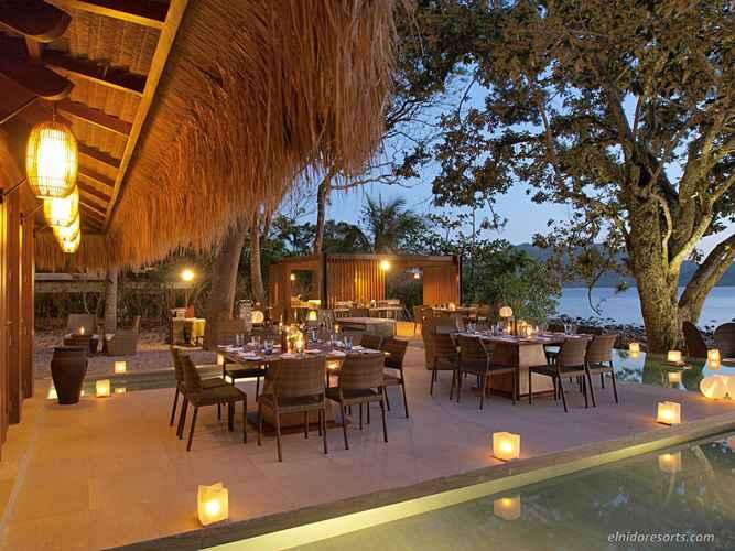 RESTAURANT El Nido Resorts Pangulasian Island Resort