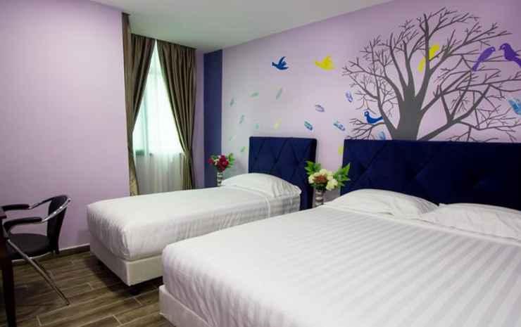 Hotel Zamburger Mak Ros Johor - Family Room