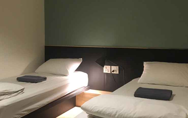 Monomer Hostel Bangkok (Newly Renovated) Bangkok - Private Twin Room with Shared Bathroom (without window) room only
