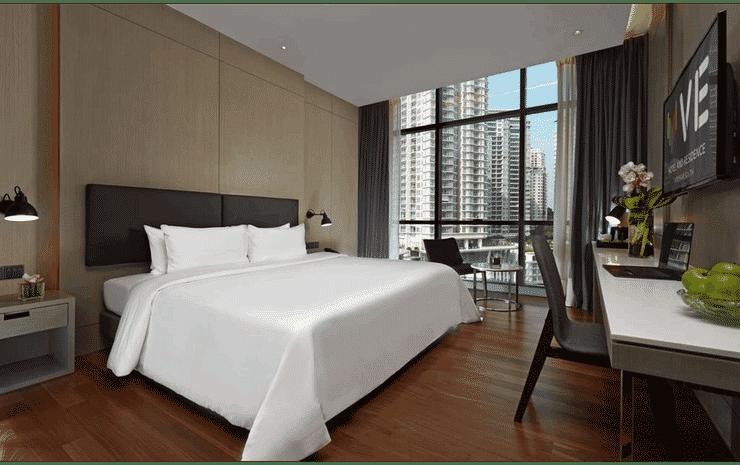 V E Hotel & Residence Kuala Lumpur - Deluxe King - Room Only