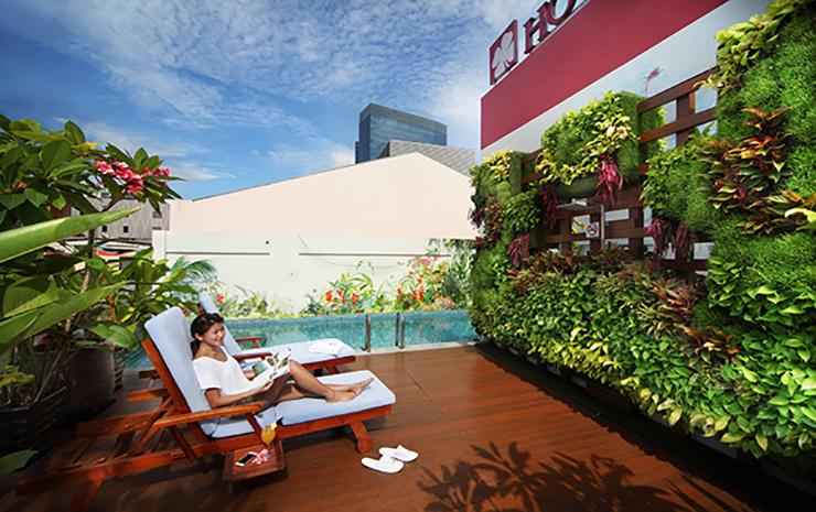 Hotel Clover 5 HongKong Street Singapore -