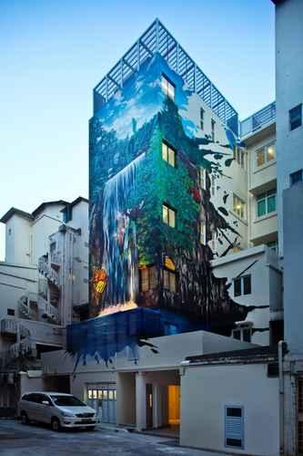 EXTERIOR_BUILDING Hotel Clover The Arts