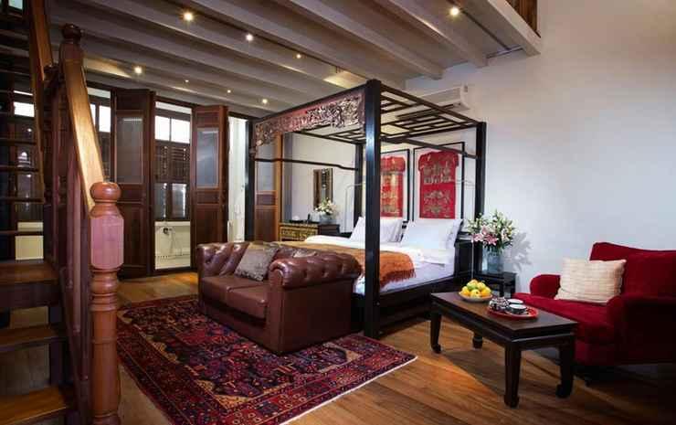 Seven Terraces Hotel Penang - Kamar Double (Terrace Duplex)
