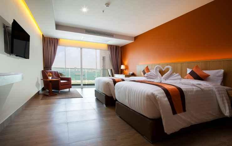 Balihai Bay Pattaya Chonburi - Kamar Deluks, pemandangan samudra