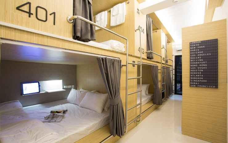 Sleep Lab Hostel Bangkok - Double Bed Mixed Dorm Room Only