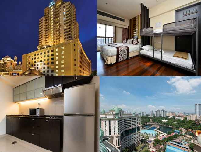 EXTERIOR_BUILDING  Flexistay Studio Resort Suites at Sunway Pyramid Hotel Tower