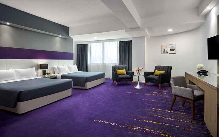 RELC International Hotel Singapore - Executive Quad with Free S$10 Grab voucher