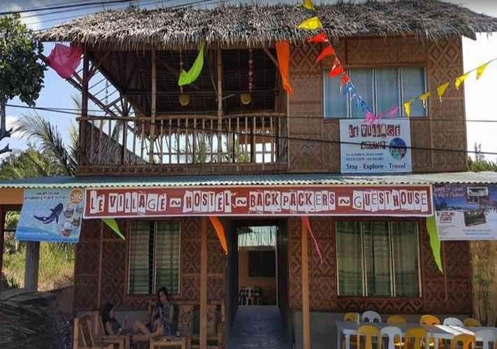 EXTERIOR_BUILDING Le Village Hostel Moalboal