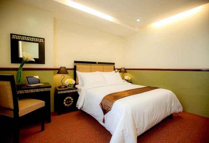 BEDROOM Manila Crown Palace Hotel