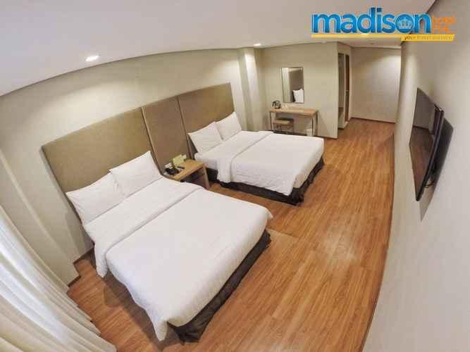 BEDROOM Madison Hotel Iloilo