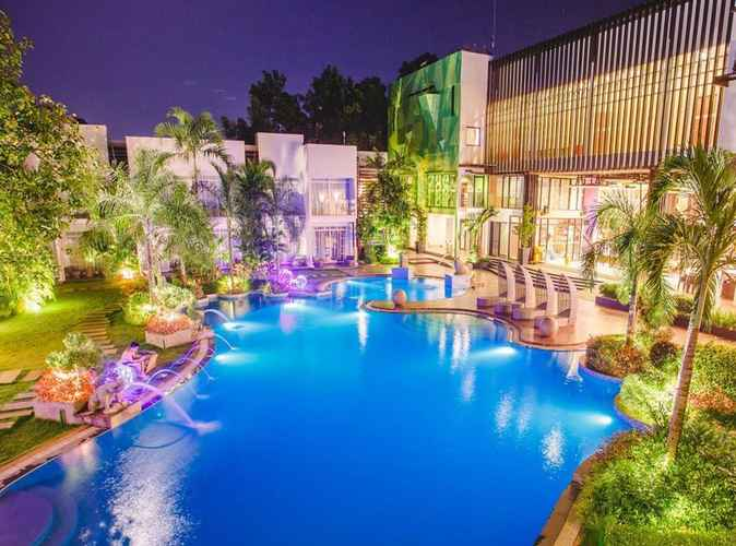 SWIMMING_POOL Aziza Paradise Hotel
