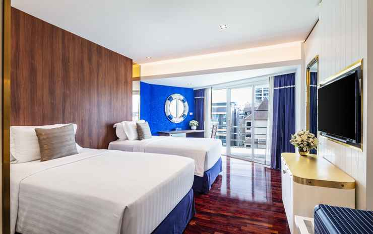 A-ONE The Royal Cruise Hotel Pattaya Chonburi - Deluxe Room Twin Bed with Breakfast