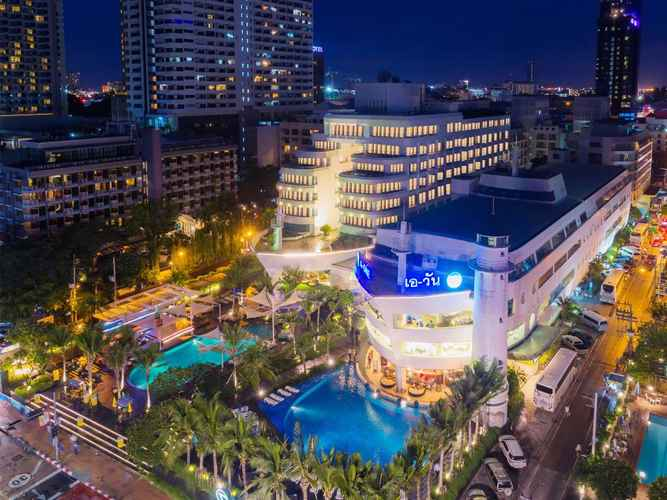 EXTERIOR_BUILDING A-ONE The Royal Cruise Hotel Pattaya